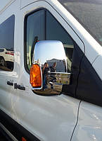 Накладки на зеркала для Ford Transit 2013+, Форд Транзит 2013+