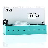 """Набор силиконовых бигуди """"Total"""" In Lei, 8 пар"""