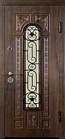 """Вхідні двері """"МІНІСТЕРСТВО ДВЕРЕЙ"""" ПВ-139 V Дуб темний Vinorit (Патина)"""
