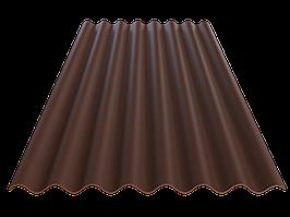 FIBRODAH Classic Фіброцементний лист - 1130х1750 коричневий