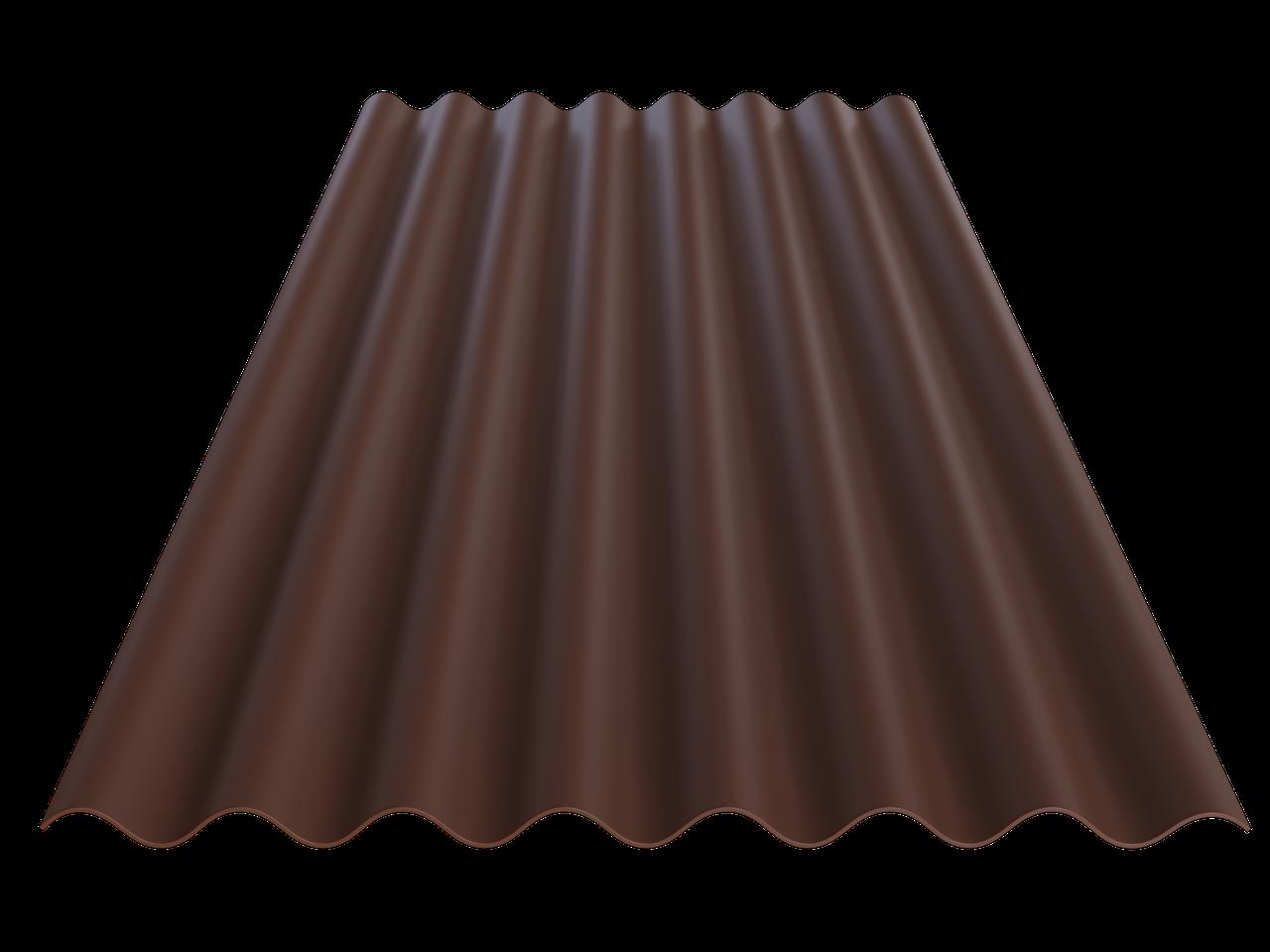 FIBRODAH Classic Фіброцементний лист - 1130х1750 коричневий, фото 1