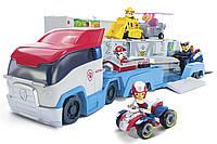 Ігровий набір Paw Patrol Щенячий патруль Транспортувальник для рятувальних автомобілів з фігуркою Райдера, фото 1