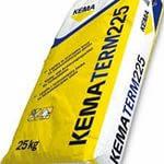 Клей для приклейки и армировки фасадного утеплителя KEMATERM 225