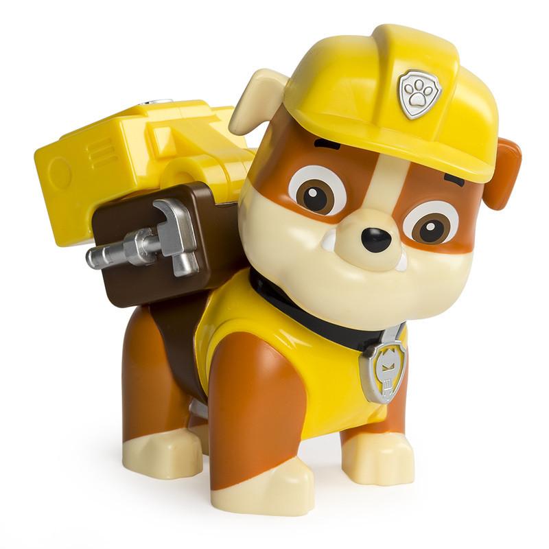 Большая фигурка щенка Крепыша с механической функцией Paw Patrol (SM16622-5)