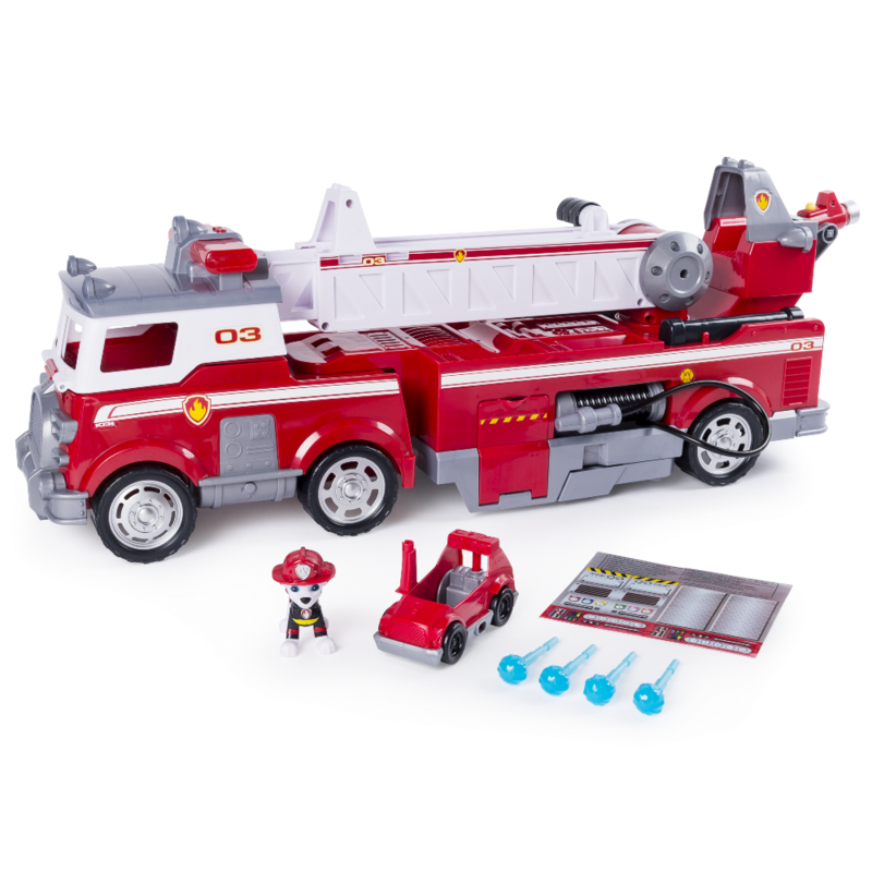 Игровой набор Paw Patrol Большая пожарная станция с Маршалом (SM16752)