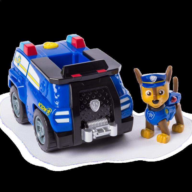 Спасательный автомобиль - трансформер с Гонщиком - водителем Paw Patrol (SM16601/0924)