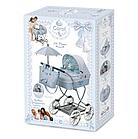 """Коляска  классическая с зонтиком для куклы """"Кэрол"""" DeCuevas 80222 высота 90 см, фото 7"""
