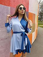 Платье нежное шелк с пышной юбкой солнце и капюшоном Smf3159, фото 1
