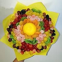 Букет СОНЦЕ з сухофруктів, фото 1