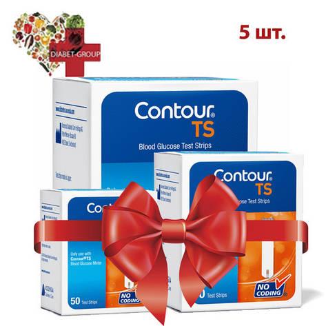 Тест-полоски Contour TS №50 5 упаковок, фото 2