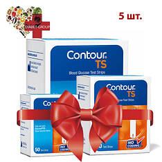 Тест-полоски Contour TS №50 5 упаковок