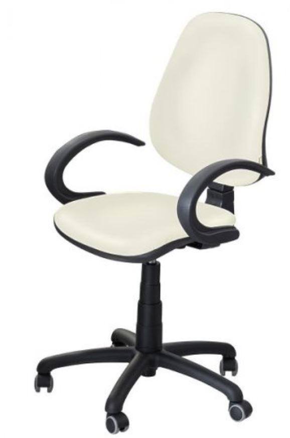 Кресло Поло 50 АМФ-5 кожзам Неаполь-50 белый