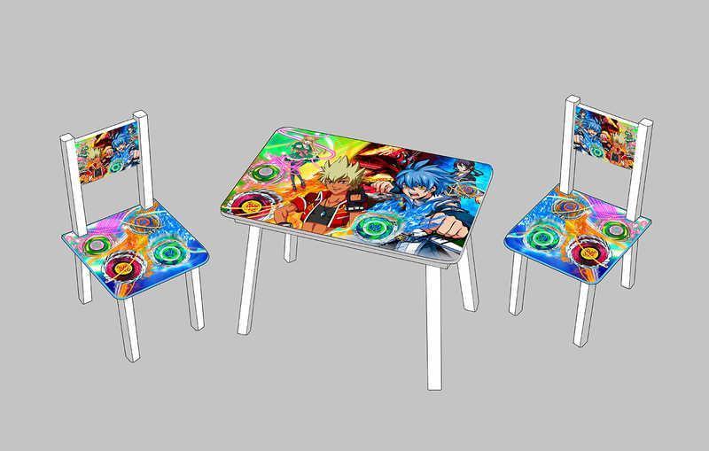 Детский столик с двумя стульчиками Инфинити надо  С 083 ***