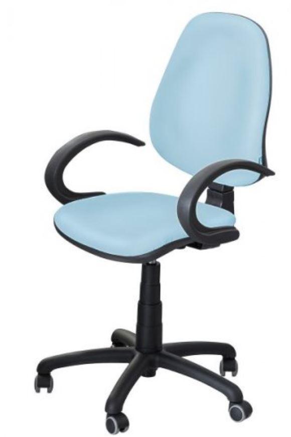 Кресло Поло 50 АМФ-5 кожзам Неаполь-06 голубой