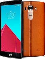 Бронированная защитная пленка для LG G4 (Genuine Leather Brown), фото 1