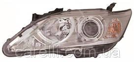 Фара правая электро Н11+НВ3 (галогенные лампы) для Toyota Camry 50 2011-14