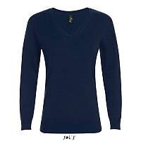 Женский пуловер с v-образным вырезом SOL'S GLORY WOMEN