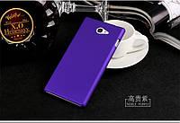 Чехол накладка бампер для Sony Xperia M2 D2305 D2302 фиолетовый
