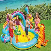 Надувной игровой центр-бассейн Intex 57135 Планета динозавров