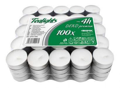 Свечи чайные (4 часа) (100шт)