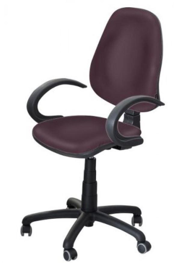 Кресло Поло 50 АМФ-5 кожзам Неаполь-32 коричневый