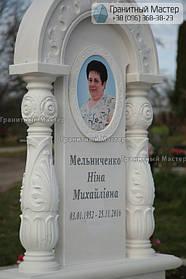 Памятник женщине из белого мрамора в Киеве, Совское кладбище 4
