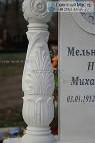 Памятник женщине из белого мрамора в Киеве, Совское кладбище 10