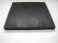 Резиновая плитка (покрытие) для спортзала 500х500х50 от производителя