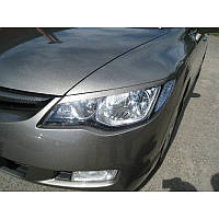 Реснички на фары Honda Civic 1 вариант