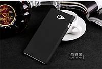 Чехол накладка бампер для Sony Xperia M2 D2305 D2302 чёрный