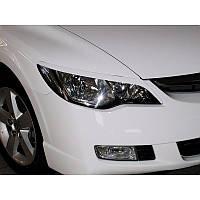 Реснички на фары Honda Civic 2 вариант