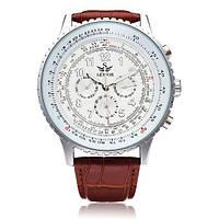 SEWOR Automatic Self-Wind Механический Часы Натуральная Кожа Мужские ремешки для часов - 1TopShop