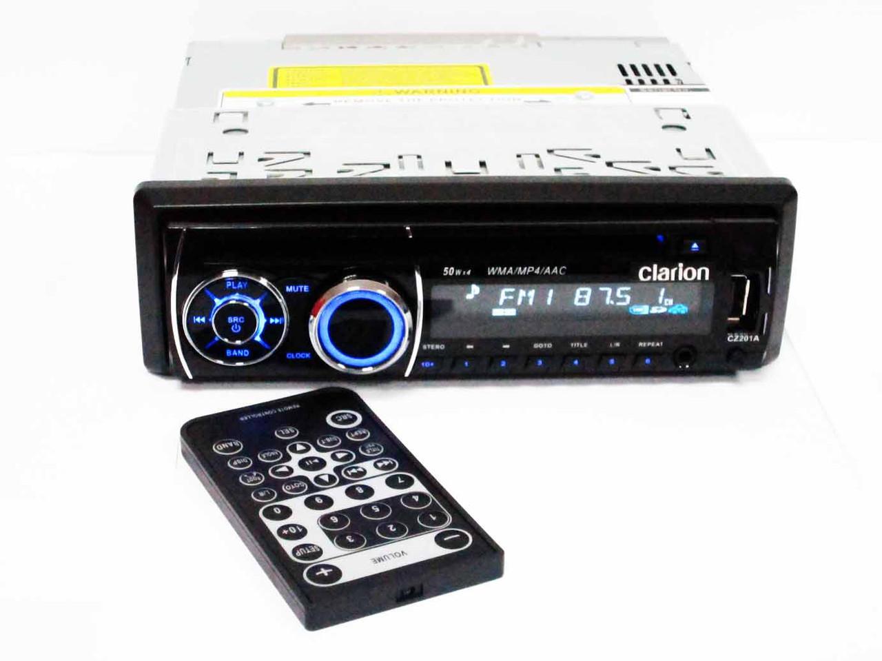 Clarion CZ201A DVD магнитола + USB+SD+AUX+FM (4x50W)