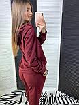 Женский стильный замшевый костюм с капюшоном (в расцветках), фото 6