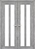 Двері KORFAD TR-05 Полотно+коробка+2 до-та лиштв+добір 100мм, еко-шпон, фото 2