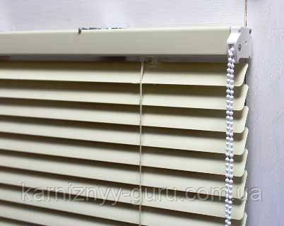 Жалюзи для окон горизонтальные алюминиевые с шириной ламели 25 мм, Magnus.