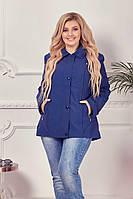 Женская куртка демисезонная больших размеров 52, 54, 56, 58, 60, 62 (расцветки)