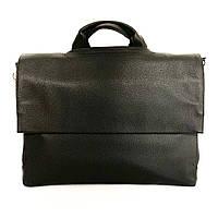 Мужской мягкий портфель из искусственной кожи  Vesson 34128 черный, фото 1