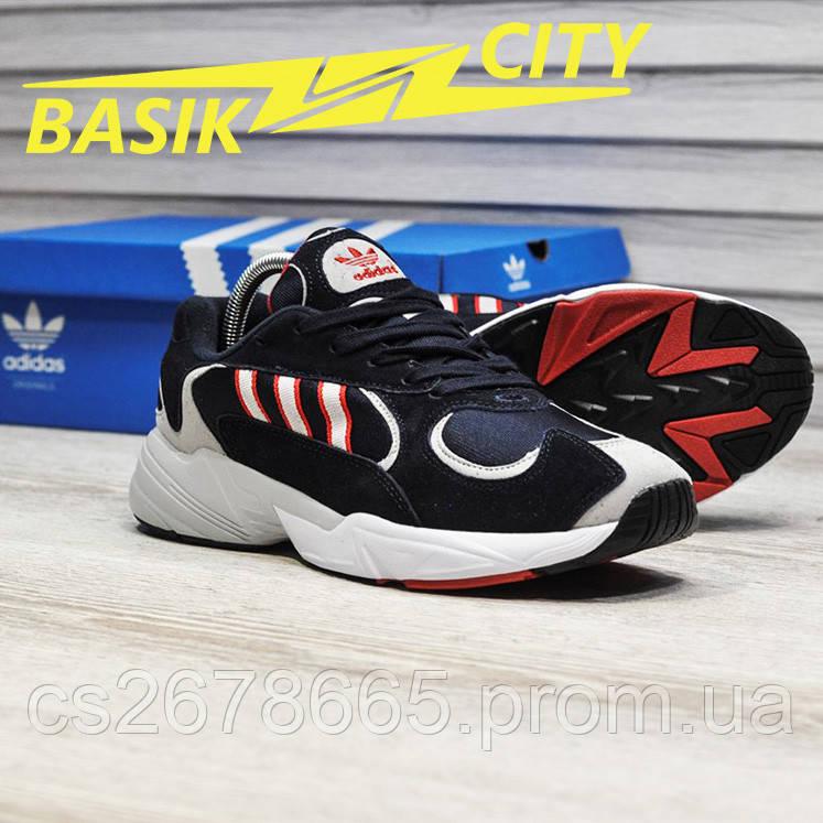 Мужские кроссовки Adidas Yung Deep Blue