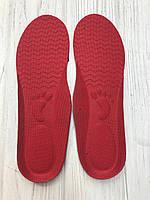 Стелька детская с супинатором обрезная с 25-36 размер красный, фото 1