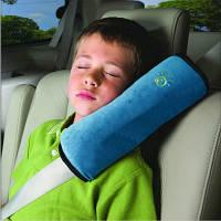 Подушка-накладка на ремень безопасности под голову