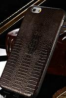 Черный чехол силиконовый алигатор для iPhone 6 6S, фото 1