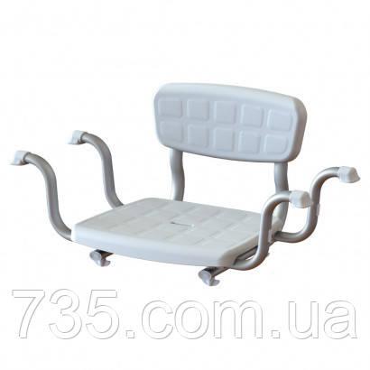 Сиденье для ванной со спинкой KING-BSB-00, фото 2