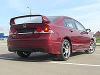 Накладка заднего бампера Mugen-Style Honda Civic