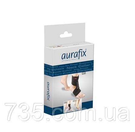 Хлопковый голеностопный бандаж Aurafix 406 восьмиобразный, фото 2
