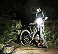 Велосипедный Фонарь с Компьютером и Звонком Stopwatch FY-317, фото 9