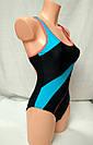 Купальник женский сплошной спортивный бордо, фото 3