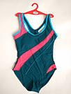 Купальник женский сплошной спортивный бордо, фото 10