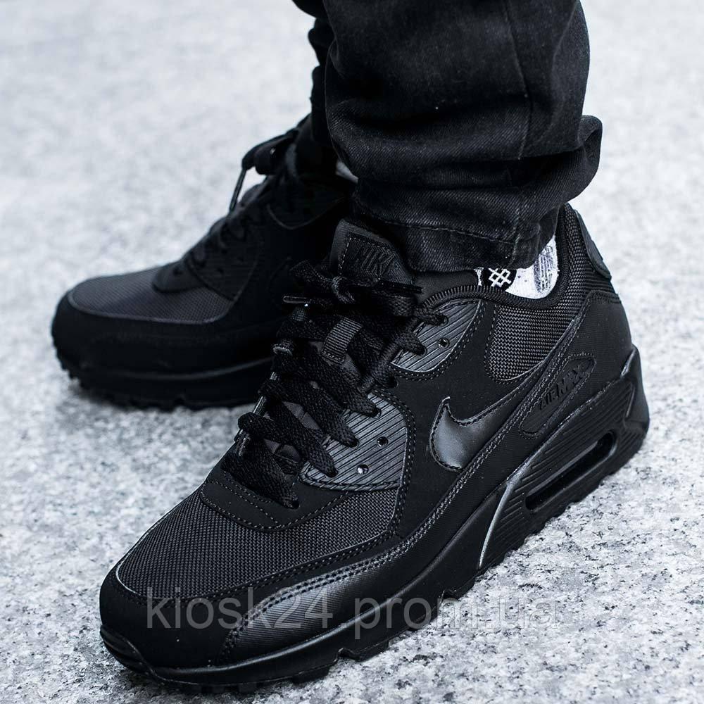a679136bceaa93 Оригинальные кроссовки Nike Air Max 90 Essential All Black (537384-090) -  Sneakersbox