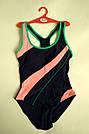 Купальник женский сплошной спортивный изумруд, фото 8